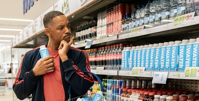 fresh paper water bottle will smith
