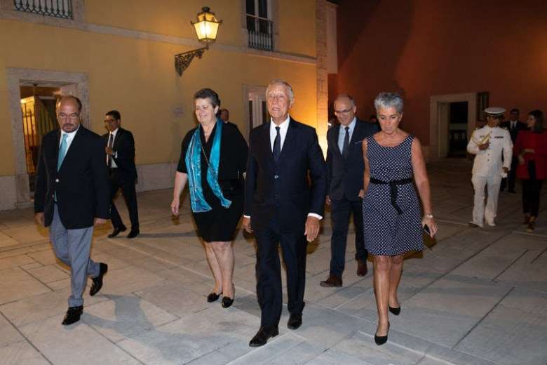 biomarine convention portuguese president