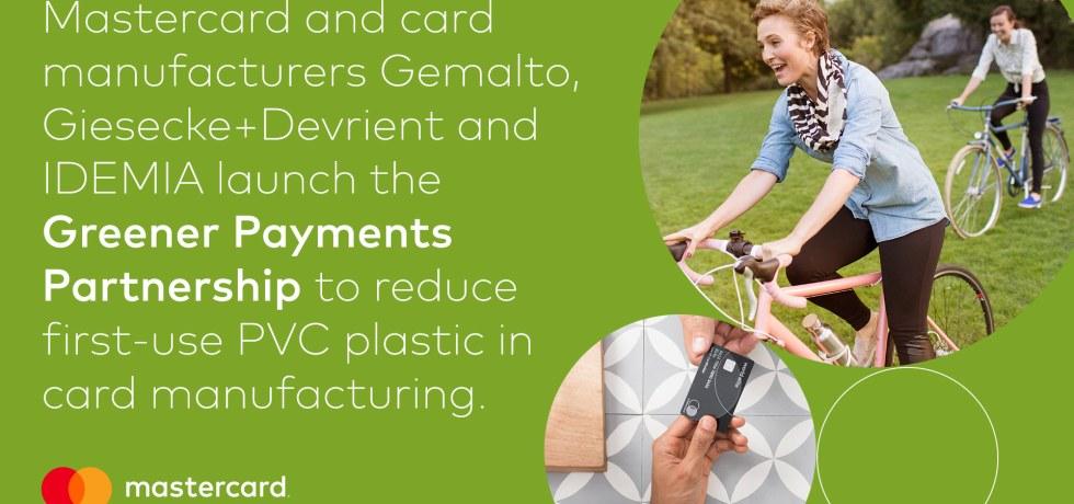 mastercard goes bioplastics