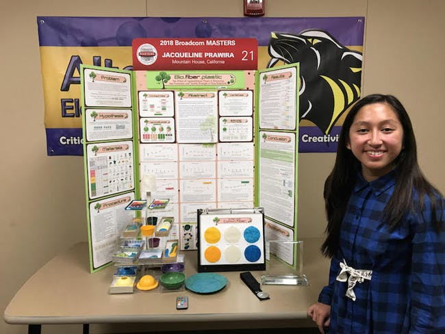 us teenager invents bioplastics from paper and cotton