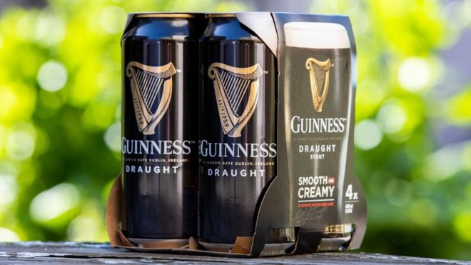 guiness stop plastic packaging