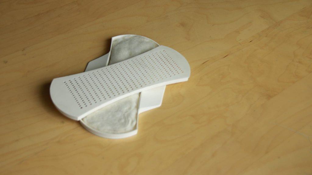 hemp bioplastics mentrual pads