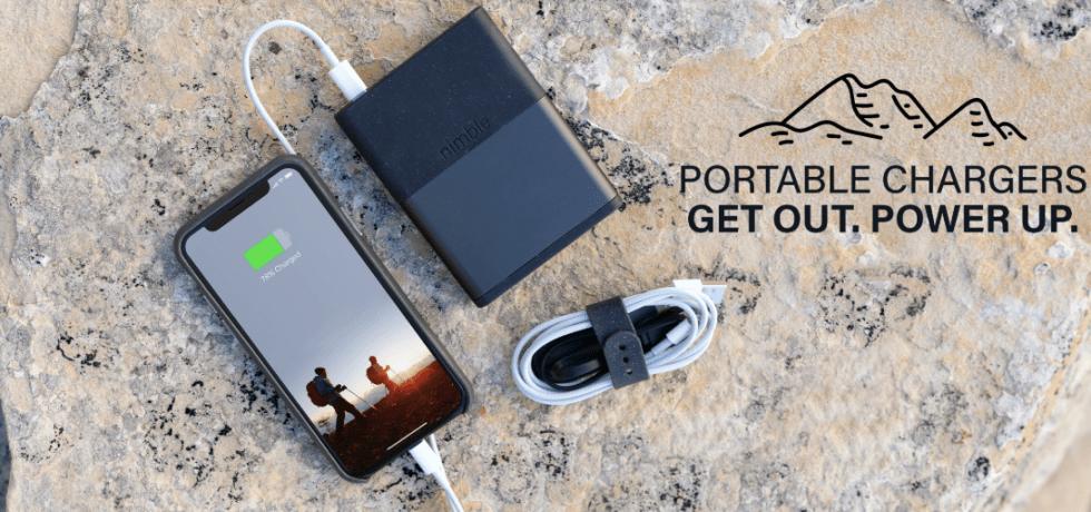 bioplastics portable chargers