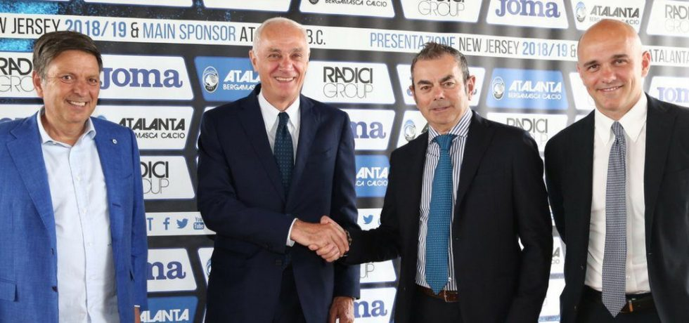 RadiciGroup Sponsor italy Football