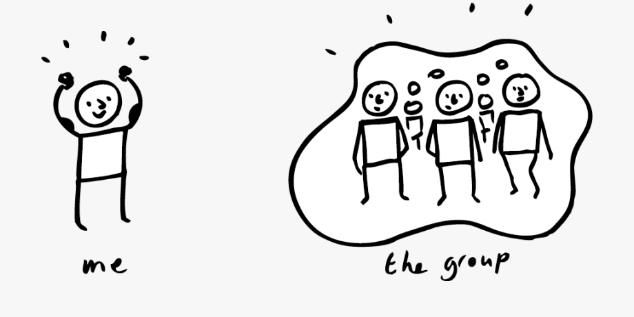 individual vs group environmental problems