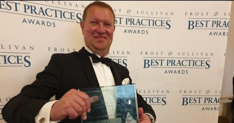 Metgen frost sullivan award