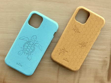 Bioplastics phone cases