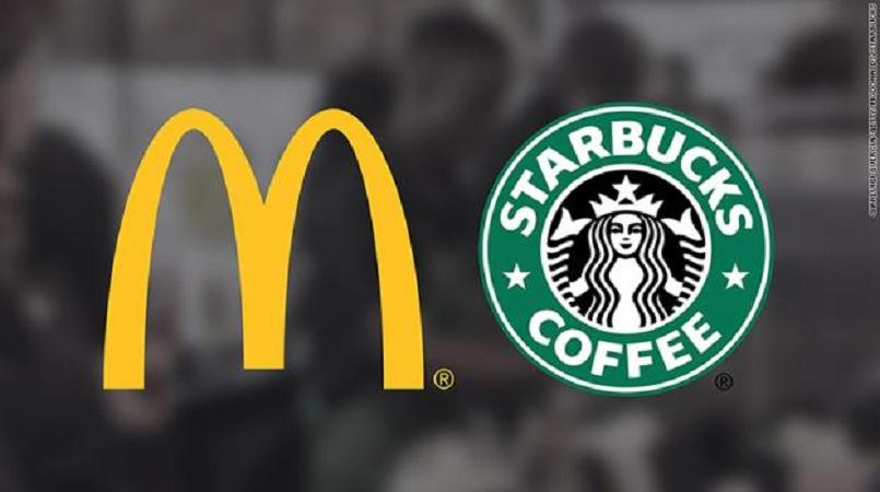 mcdonalds starbuck reusable cups