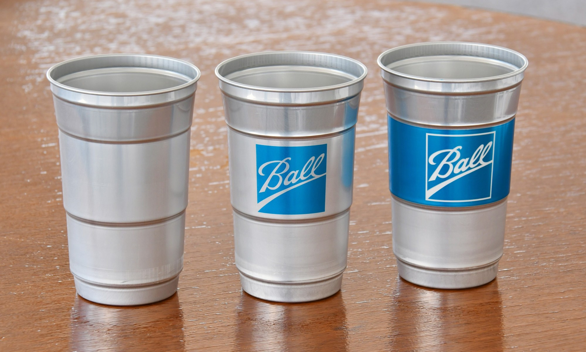 reusable aluminum cups