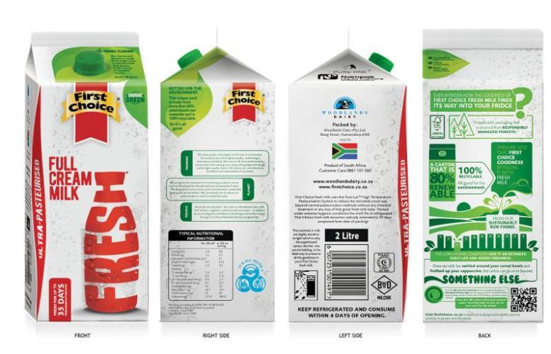 woodland dairy bioplastics