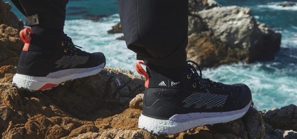adidas ocean plastic hiker shoes