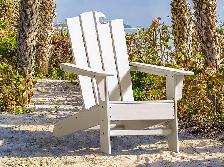 ocean plastic chair