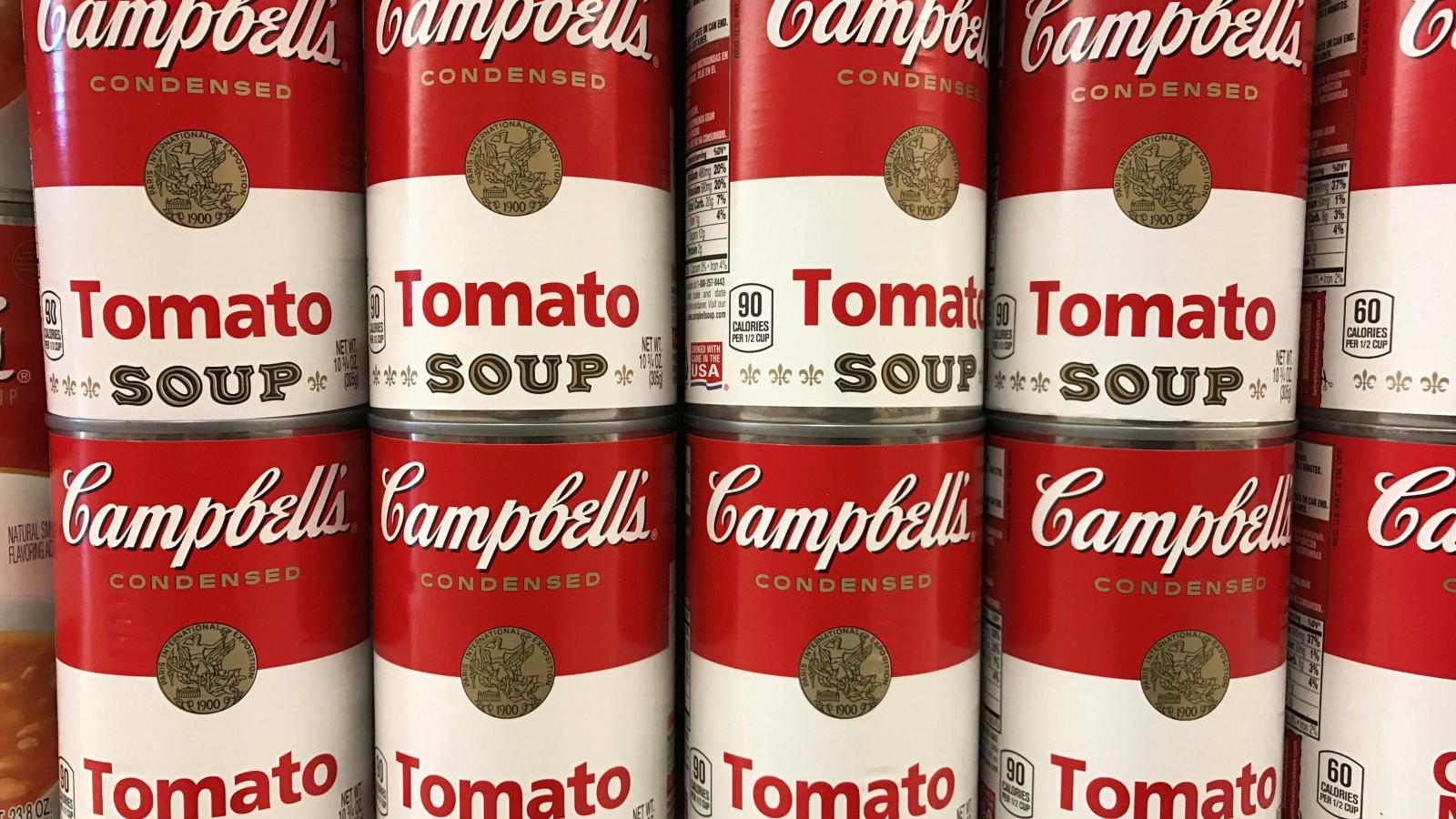 campbells soup bioplastics