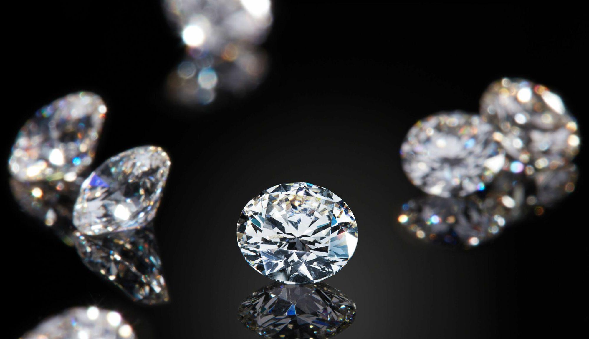 captured carbon diamonds