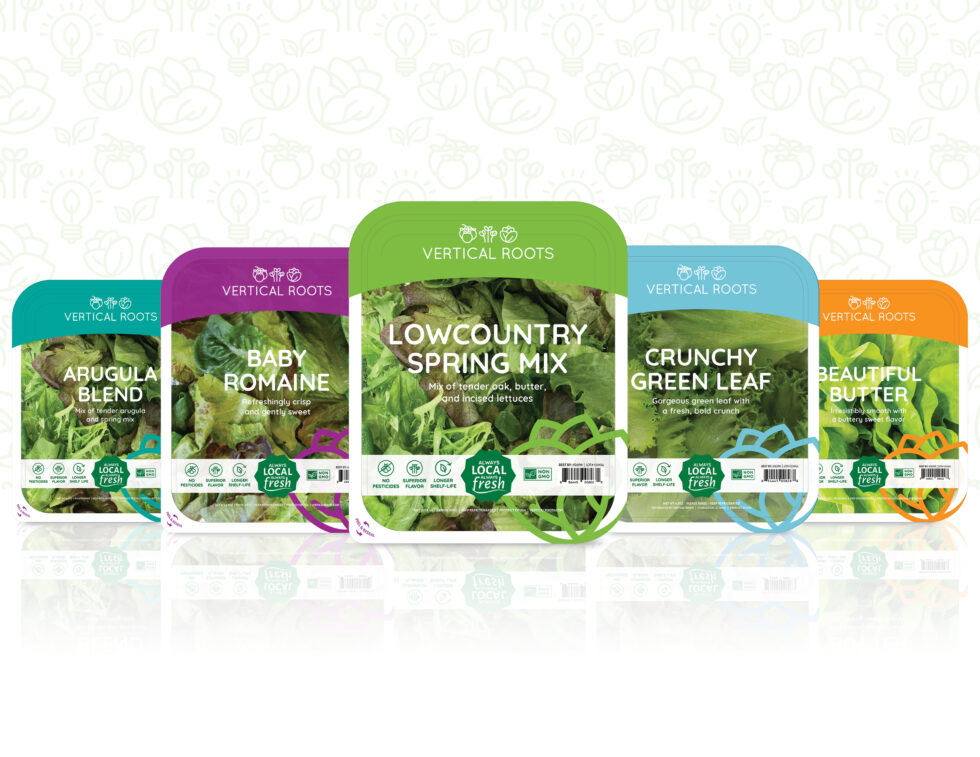 Vertical Roots Innovative Packaging