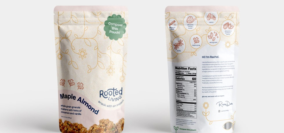granola compostable packaging