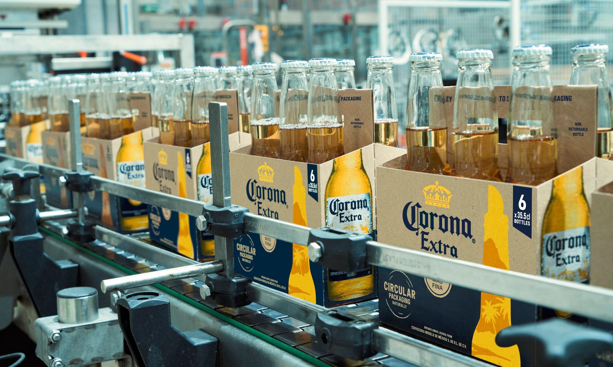 corona barley packaging