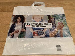 reusable plastic bag