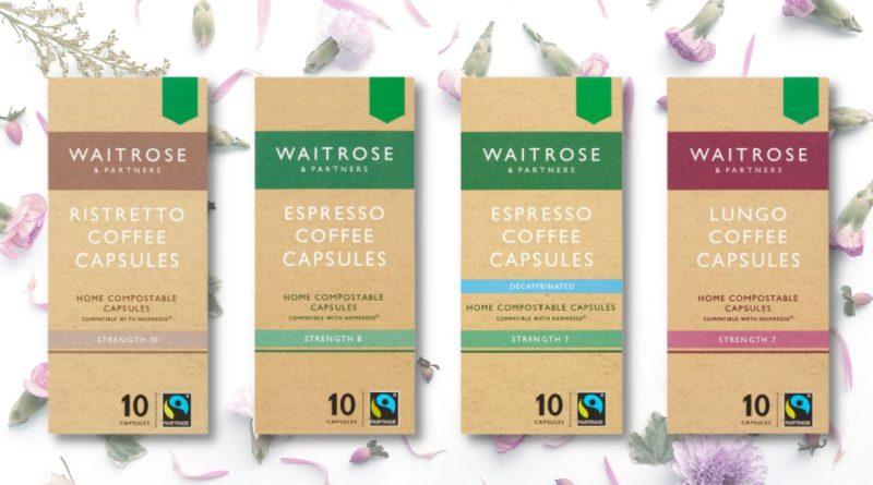 waitrose compostable coffee caps