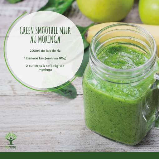 Green Smoothie Milk au moringa