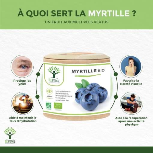 Bienfaits Myrtille Bio