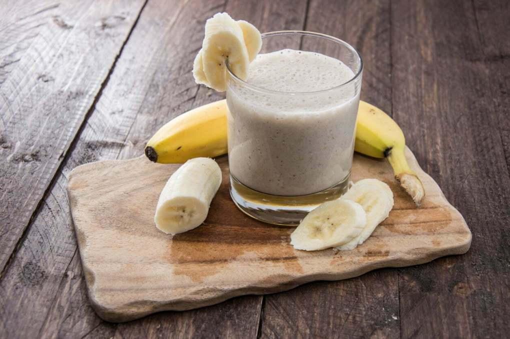 Boisson protéinée à la banane et au beurres de cacahuètes