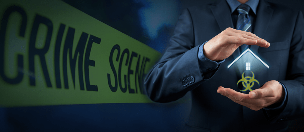 insurance for crime scene cleanup home
