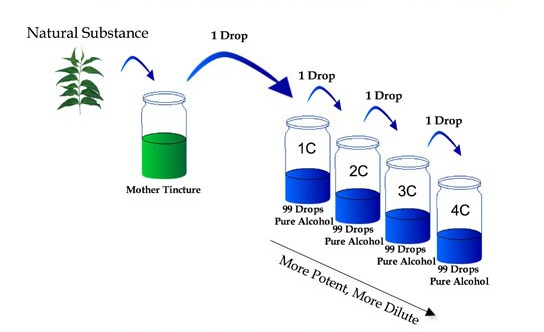 homotox - dilution graphic
