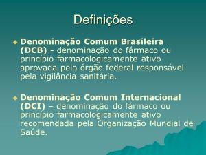 DCI - DCB