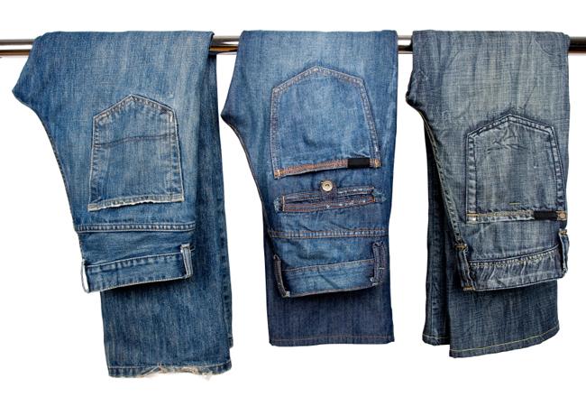 1.334 Enlever une tache d'herbe sur un jeans
