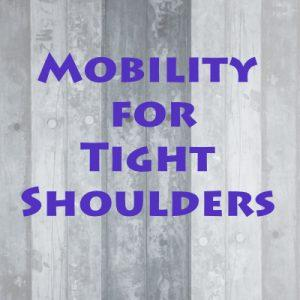 Instant Work Out For Shoulders