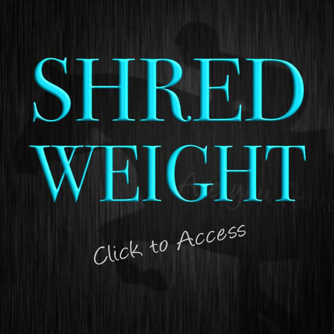 Shred Weight Advanced Workout