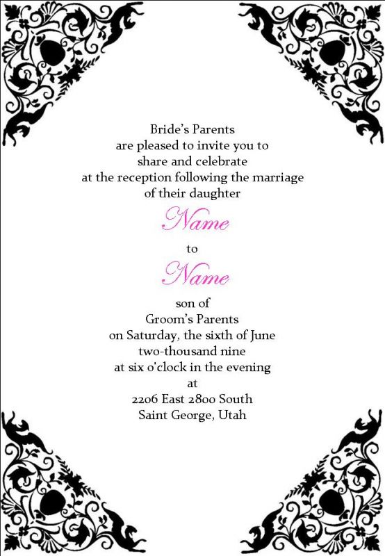 Expensive Wedding Invitation For You