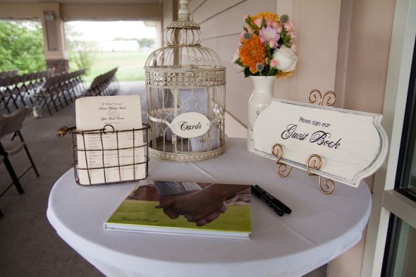 Wedding Guest Book Table Decoration Ideas