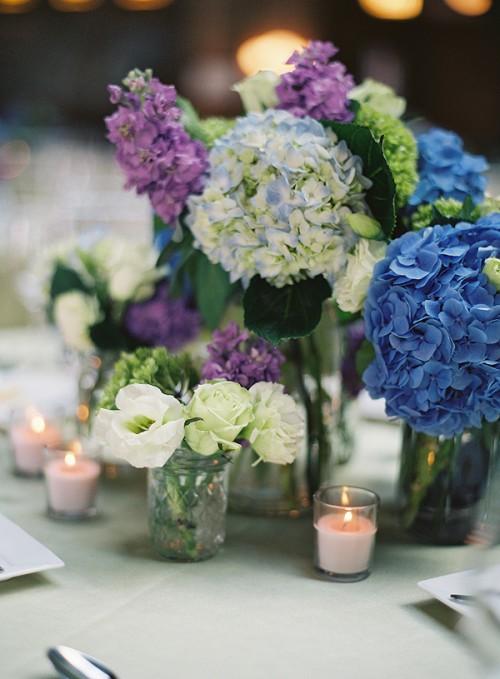 Hydrangea Centerpieces :  wedding Hydrangea 2