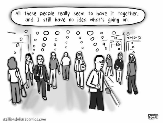 Let's destigmatize the conversation about impostor syndrome! - BioScope