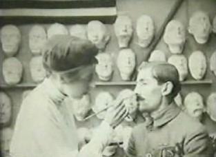 Tin facial prosthetics film