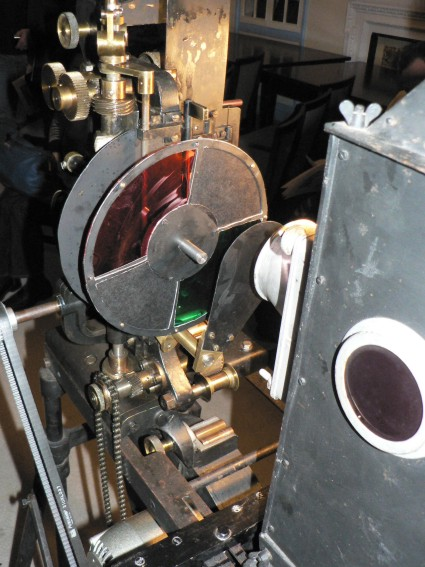Kinemacolor projector
