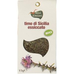 Bio thymian aus Sizilien