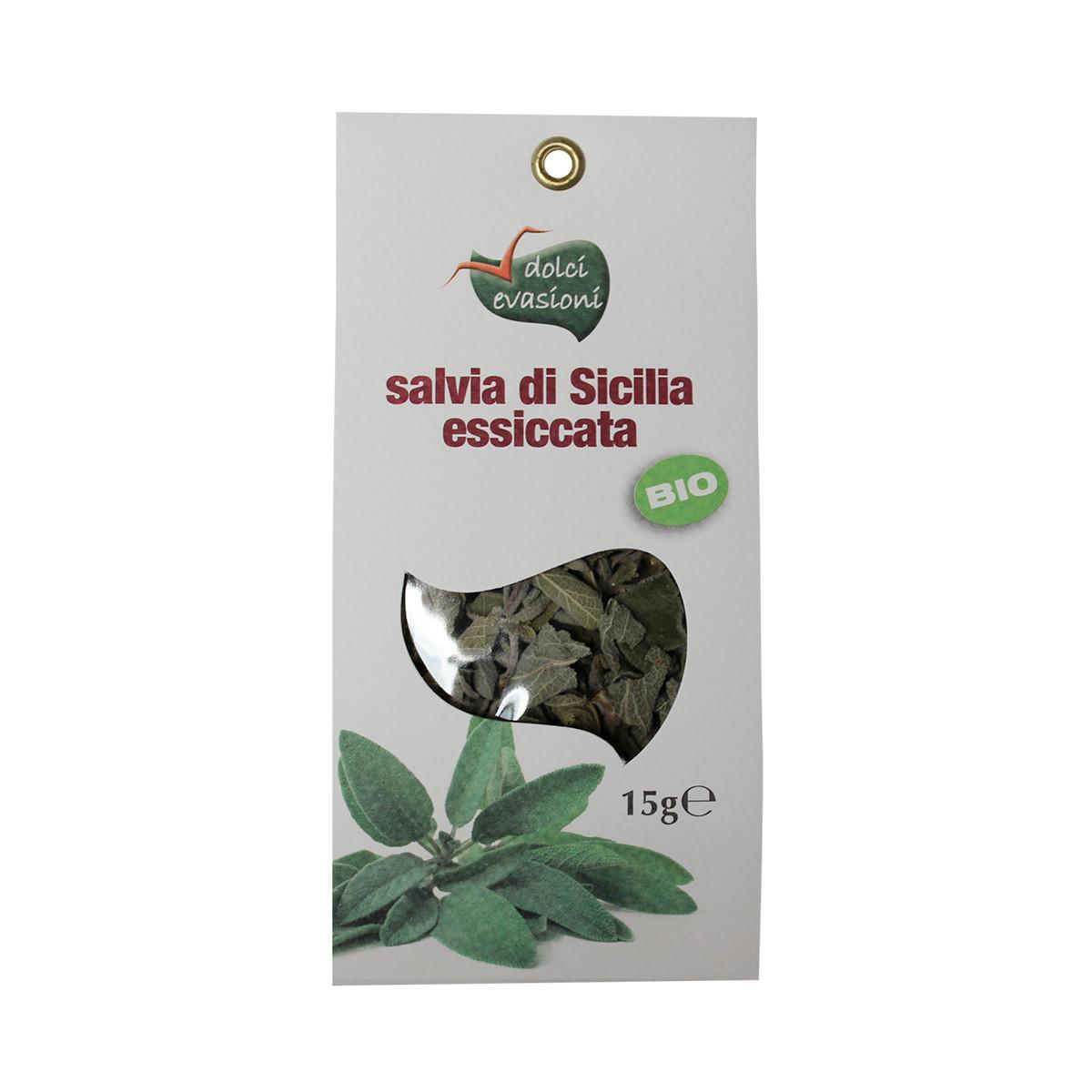 salvia essiccata siciliana