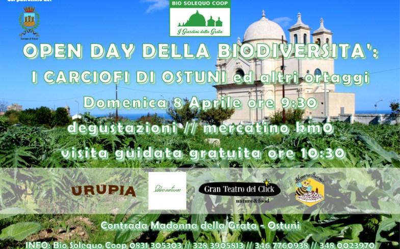 Open Day della Biodiversità: i carciofi di Ostuni ed altri ortaggi