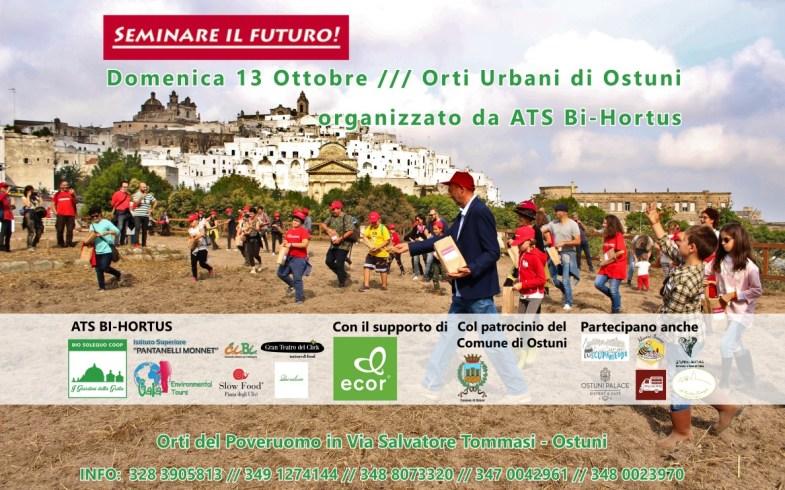 """OstuniNotizie.it: """"Seminare il Futuro"""" presentazione de """"Le Stagioni di Ostuni"""