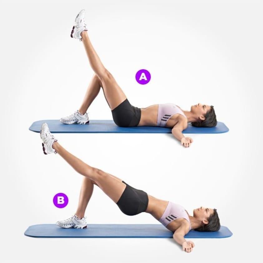 10 Exercícios de Agachamento para Glúteos que Realmente Funcionam - Elevação da pelve unilateral