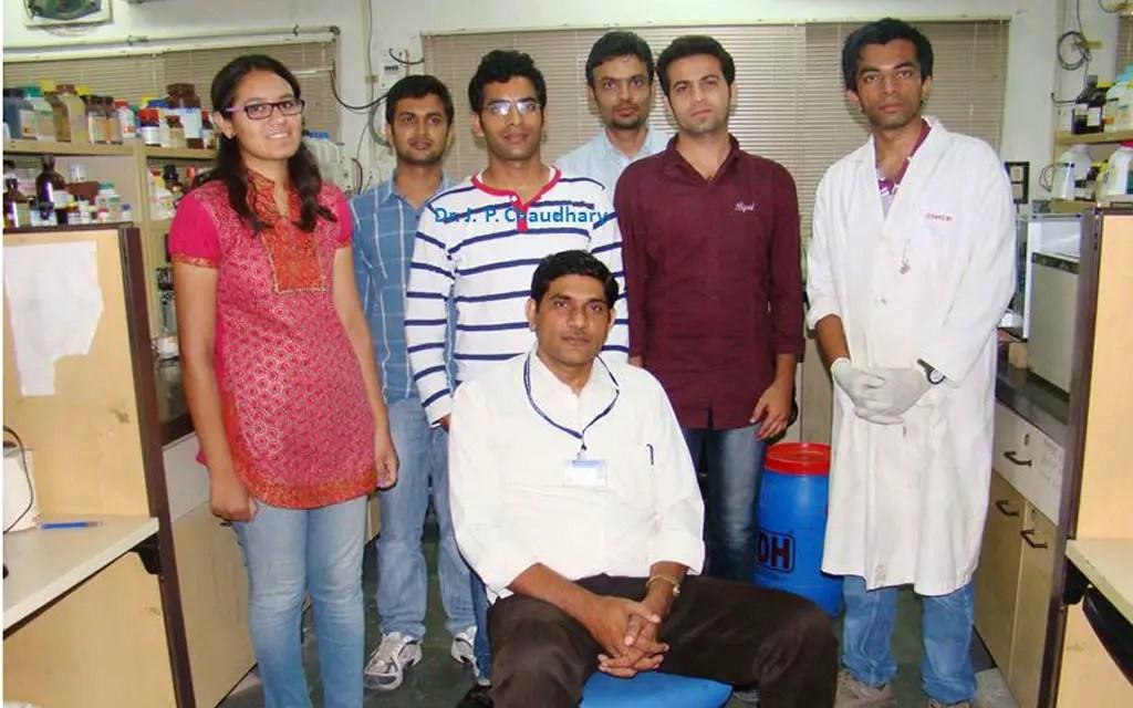 Dr. Ramavatar Meena and his team.