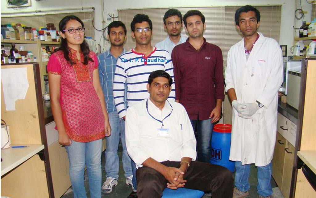 Dr. Ramavatar Meena and his team.