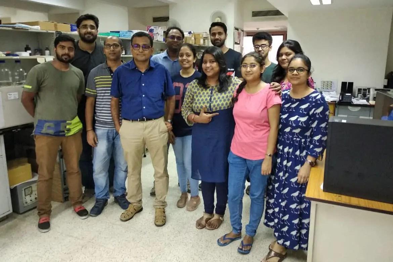 Dr. Anriban Basu with his team