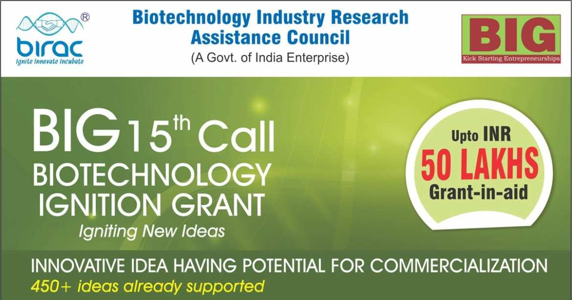 Biotechnology Ignition Grant