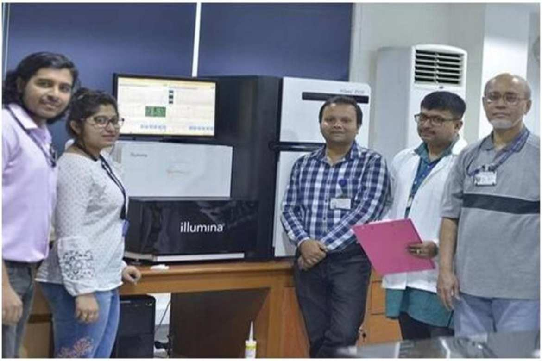 NIBGM scientists