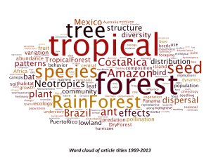 Seeking Nominations for the @Biotropica Editorial Board