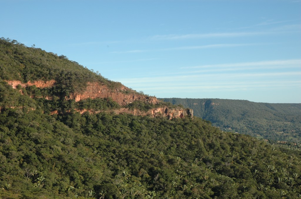 The Chapada do Araripe, a Caatinga site in Northeastern Brazil. Photo by Jose Alves de Siqueira Filho.